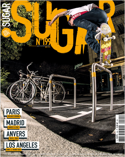 Sugar skateboard magazine 199