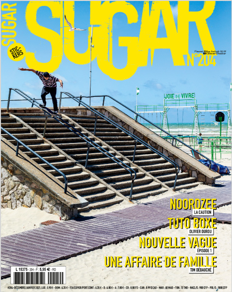 Sugar skateboard magazine 204