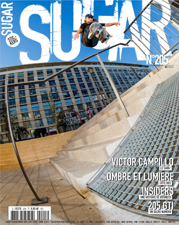 Sugar skateboard magazine 205