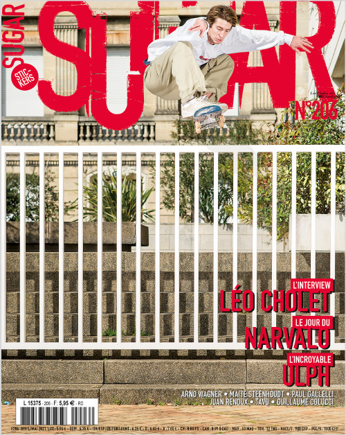 Sugar skateboard magazine 206