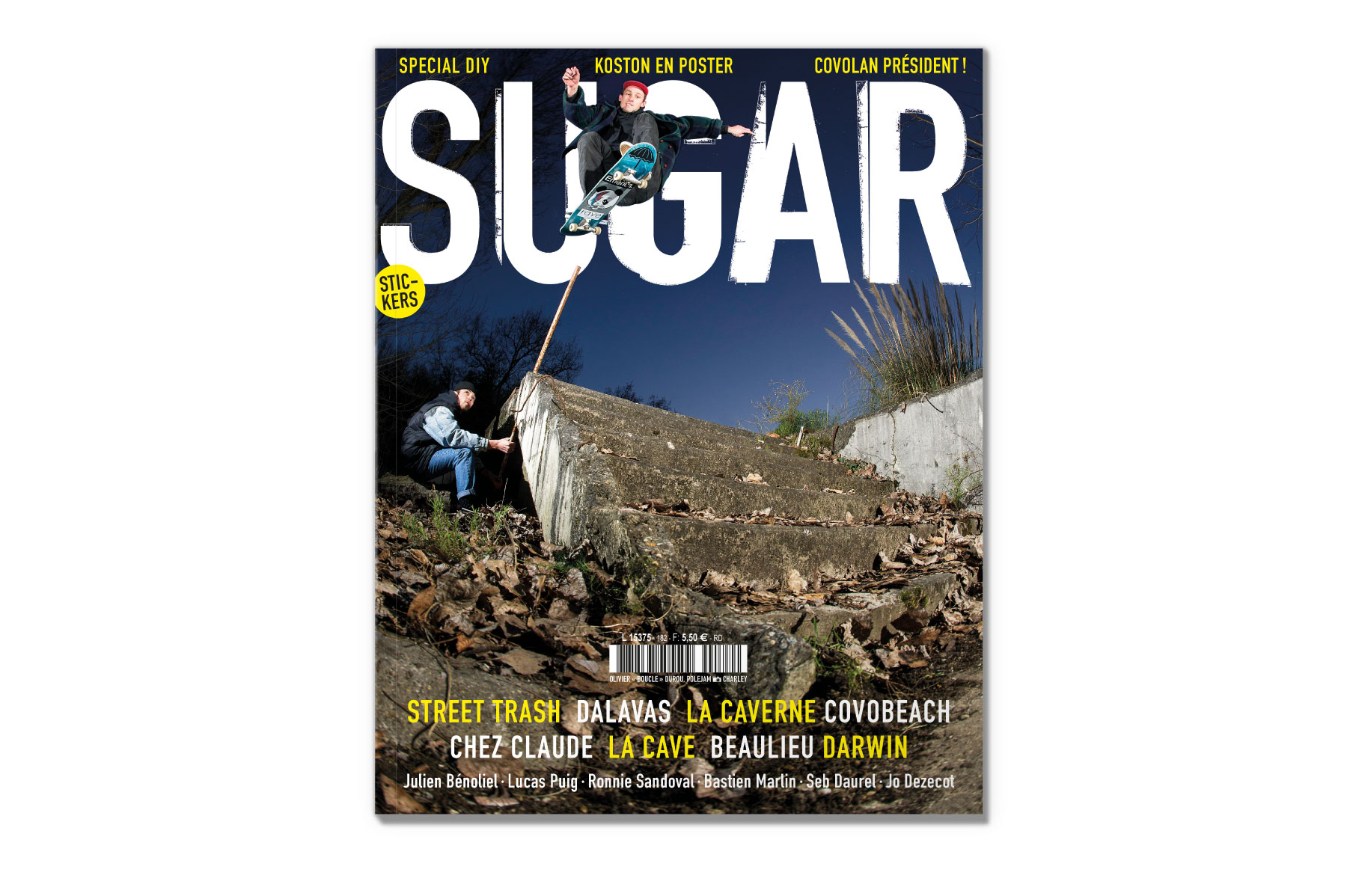 Sugar skateboard magazine 182 DIY
