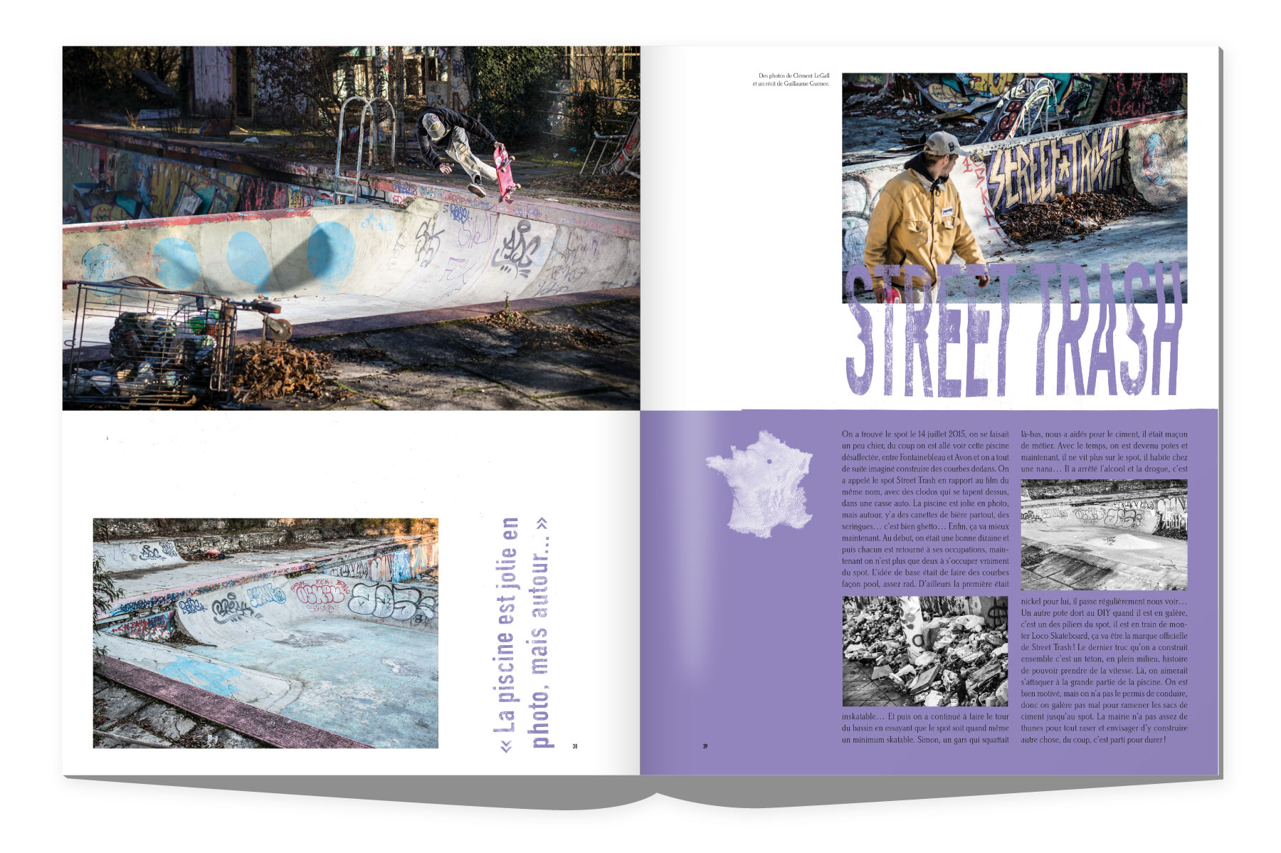 Sugar Skateboard magazine Street Trash