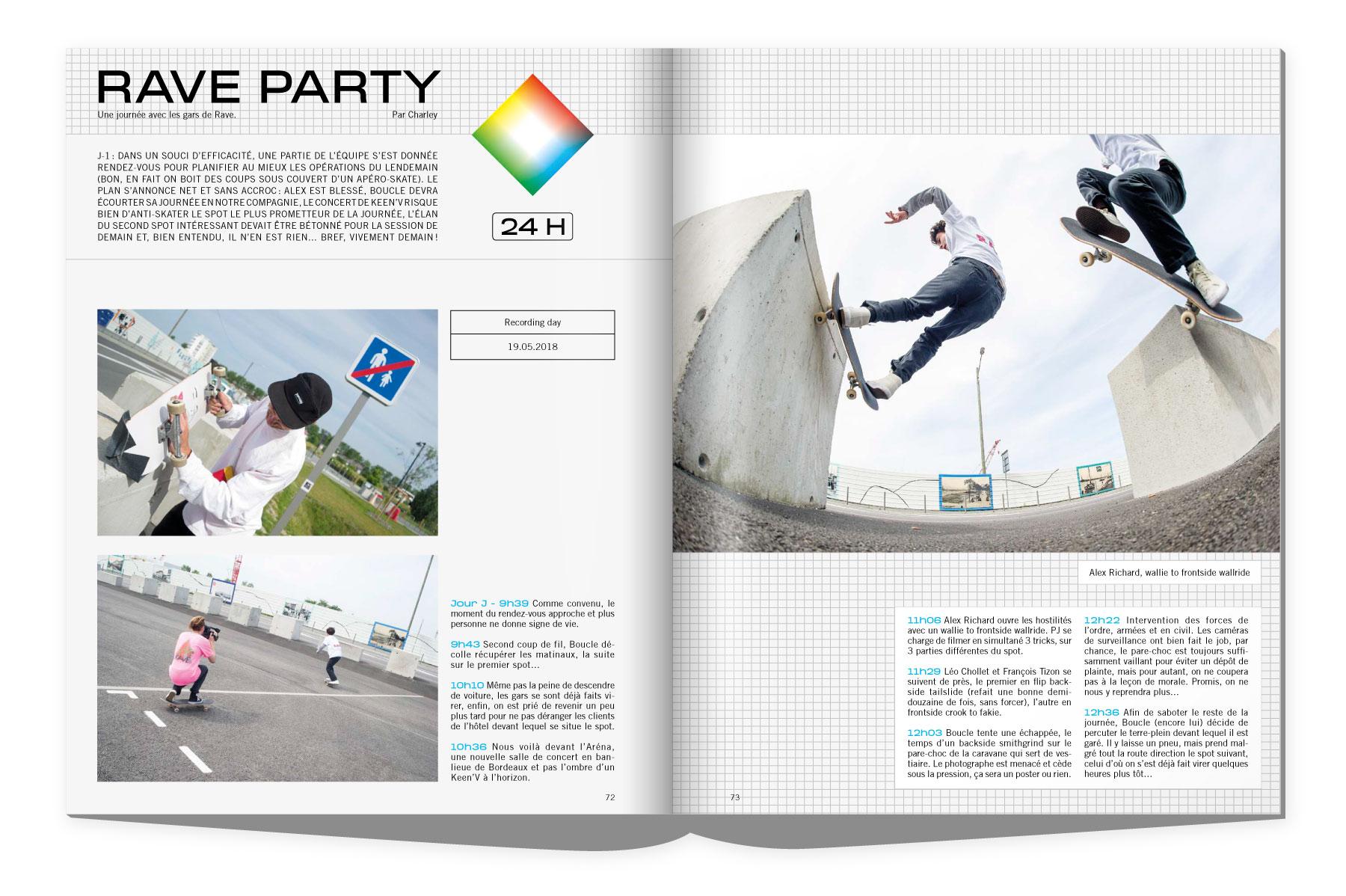 sugar 190 Rave skateboard